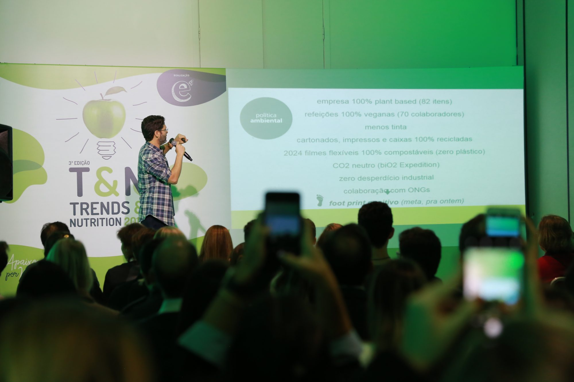 Trends & Nutrition do GF2019 recebe o fundador da Bio2 organic